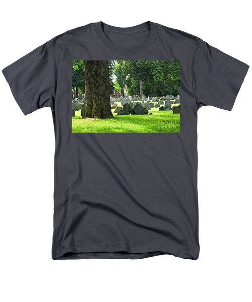 Old cemetery in Boston T-Shirt by Elena Elisseeva