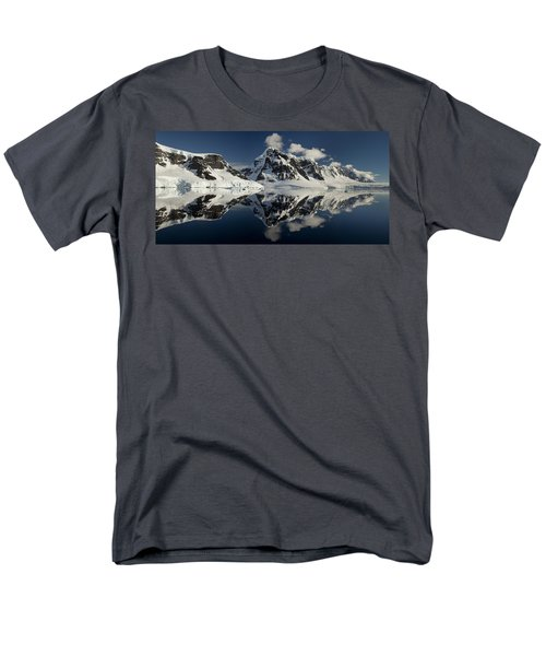 Peaks Along  Neumayer Channel T-Shirt by Colin Monteath