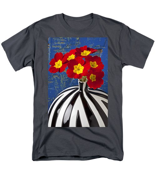 Red And Yellow Primrose T-Shirt by Garry Gay
