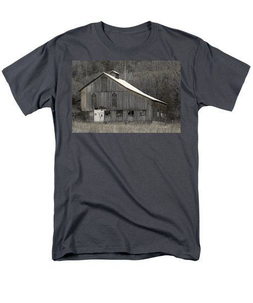 Rustic Weathered Mountainside Cupola Barn T-Shirt by John Stephens