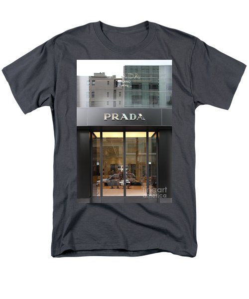 San Francisco - Maiden Lane - Prada Fashion Store - 5D17798 T-Shirt by Wingsdomain Art and Photography