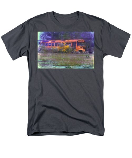 School Bus Out to Pasture T-Shirt by Judi Bagwell