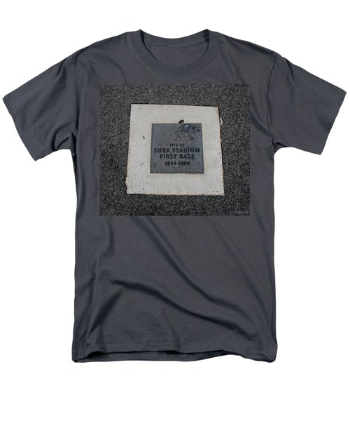 SHEA STADIUM FIRST BASE T-Shirt by ROB HANS