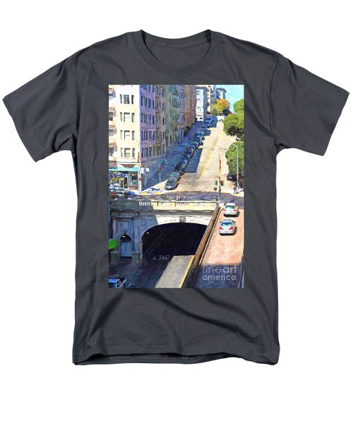 Stockton Street Tunnel Midday Late Summer in San Francisco T-Shirt by Wingsdomain Art and Photography
