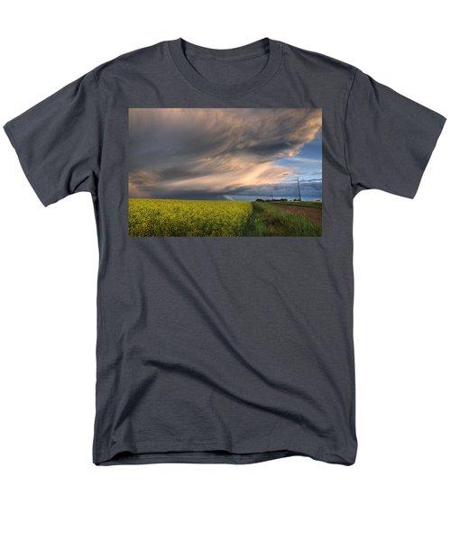 Summer Evening Storm Blowing Over Ripe T-Shirt by Dan Jurak