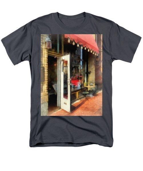Tea Room in SoNo Norwalk CT T-Shirt by Susan Savad