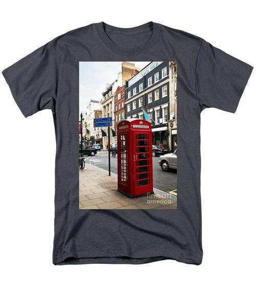 Telephone box in London T-Shirt by Elena Elisseeva