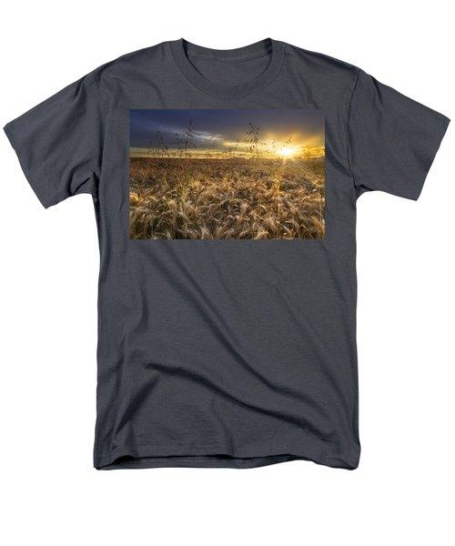 Tumble Wheat T-Shirt by Debra and Dave Vanderlaan