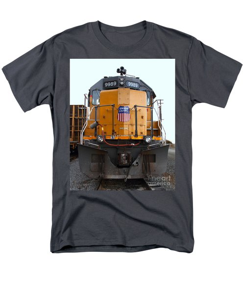 Union Pacific Locomotive Trains . 7D10589 T-Shirt by Wingsdomain Art and Photography