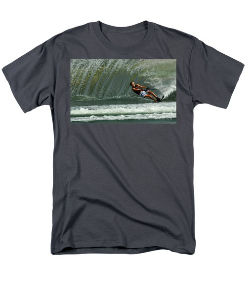 Water Skiing Magic of Water 1 T-Shirt by Bob Christopher