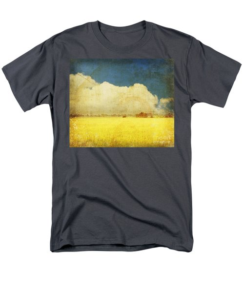 Yellow field T-Shirt by Setsiri Silapasuwanchai