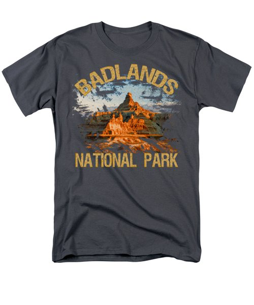 Badlands National Park Men's T-Shirt  (Regular Fit) by David G Paul