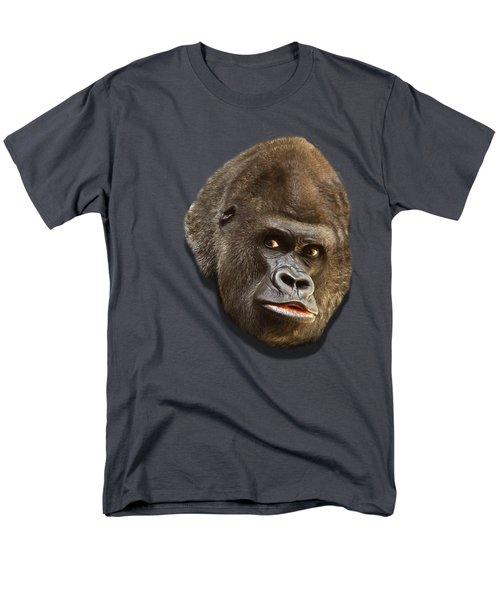 Gorilla Men's T-Shirt  (Regular Fit) by Ericamaxine Price