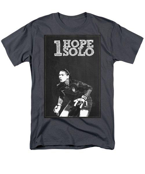 Hope Solo Men's T-Shirt  (Regular Fit) by Semih Yurdabak