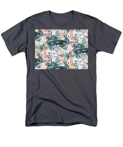 Kingfisher Men's T-Shirt  (Regular Fit) by Jacqueline Colley
