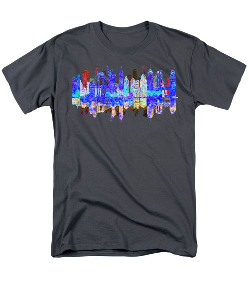 New York Skyline Men's T-Shirt  (Regular Fit) by John Groves