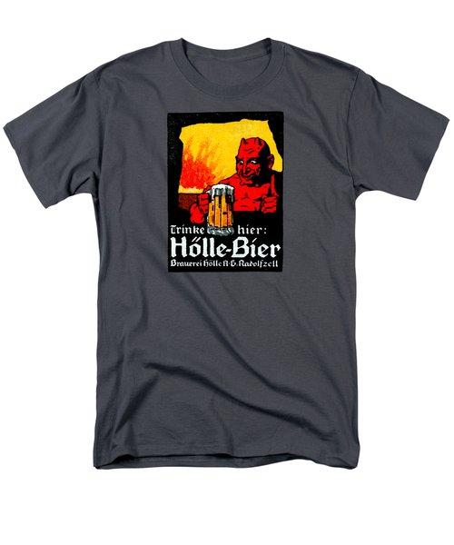 1905 German Beer Poster Men's T-Shirt  (Regular Fit) by Historic Image