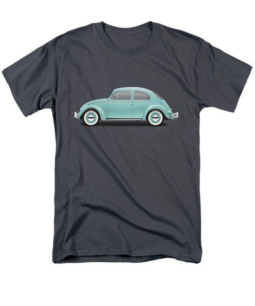 1961 Volkswagen Deluxe Sedan - Turquoise Men's T-Shirt  (Regular Fit) by Ed Jackson