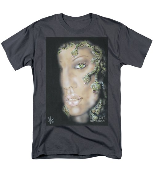 1st Medusa Men's T-Shirt  (Regular Fit) by John Sodja