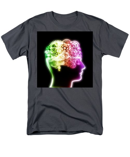 brain design by cogs and gears T-Shirt by Setsiri Silapasuwanchai