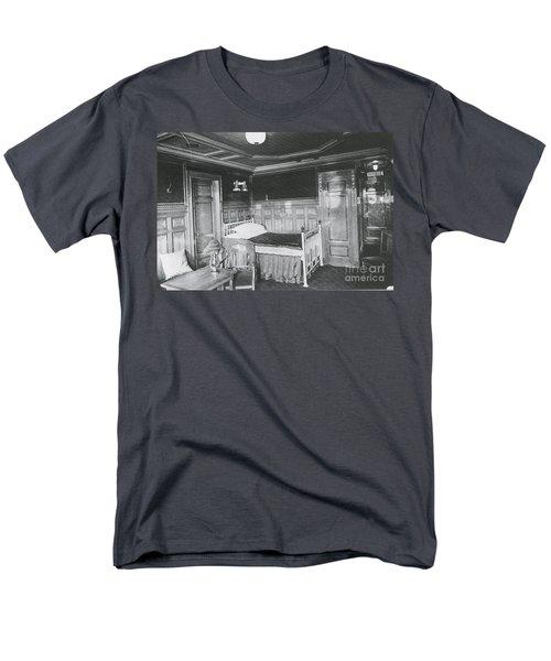 Parlour Suite Of Titanic Ship T-Shirt by Photo Researchers
