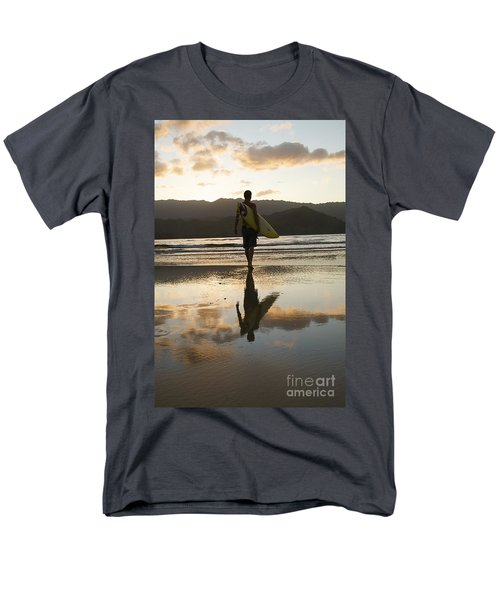 Sunset Surfer T-Shirt by Kicka Witte - Printscapes