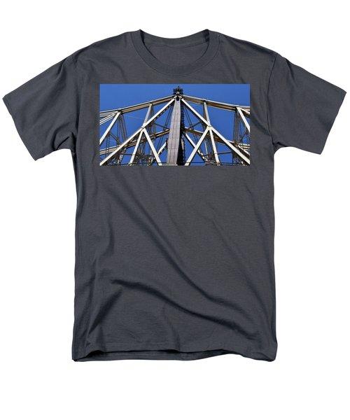 59th Street Bridge No. 88 Men's T-Shirt  (Regular Fit) by Sandy Taylor