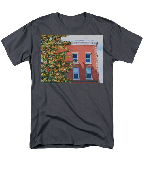 A Brick in Time T-Shirt by Lynne Reichhart
