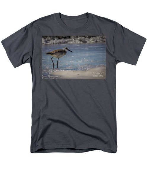 A Walk On The Beach Men's T-Shirt  (Regular Fit) by Marvin Spates