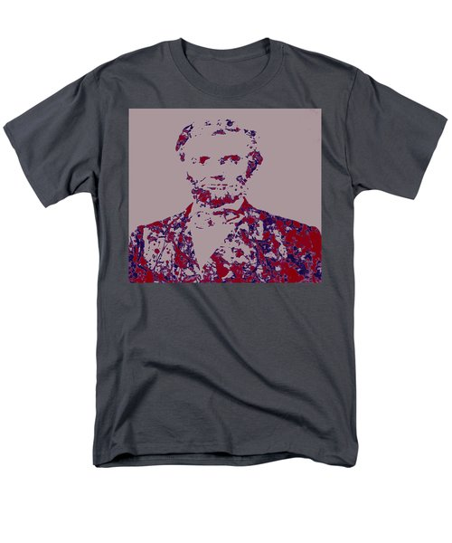 Abraham Lincoln 4c Men's T-Shirt  (Regular Fit) by Brian Reaves