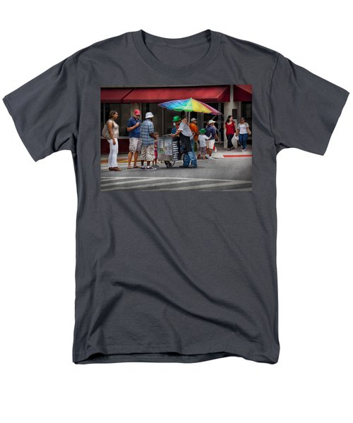 Americana - Mountainside NJ - Buying Ices  T-Shirt by Mike Savad