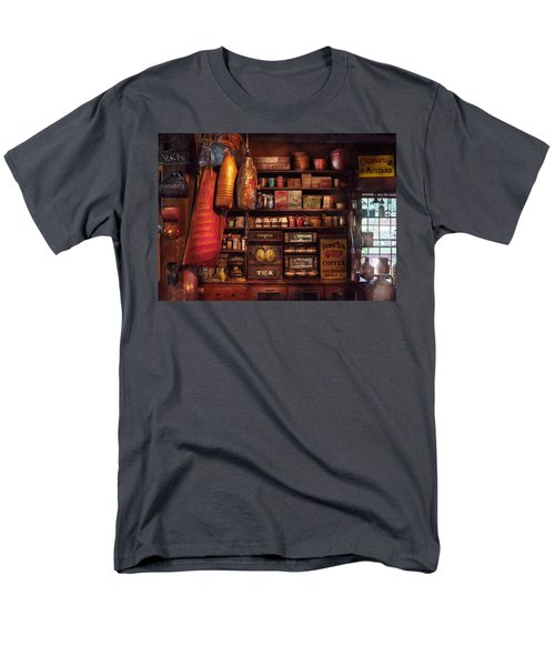 Americana - Store - The local grocers  T-Shirt by Mike Savad