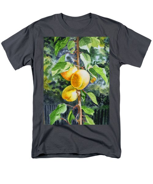Apricots in the Garden T-Shirt by Irina Sztukowski