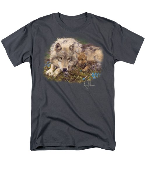 In A Safe Place Men's T-Shirt  (Regular Fit) by Lucie Bilodeau