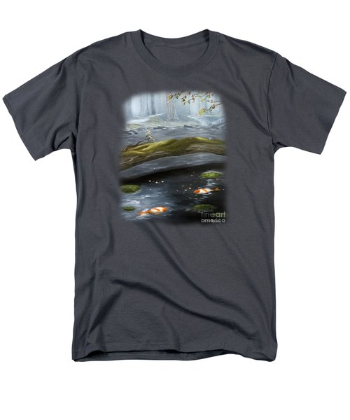 The Wishing Pond  Men's T-Shirt  (Regular Fit) by Susan  Rossell