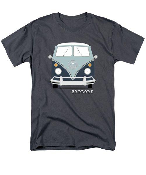 Vw Bus Blue Men's T-Shirt  (Regular Fit) by Mark Rogan