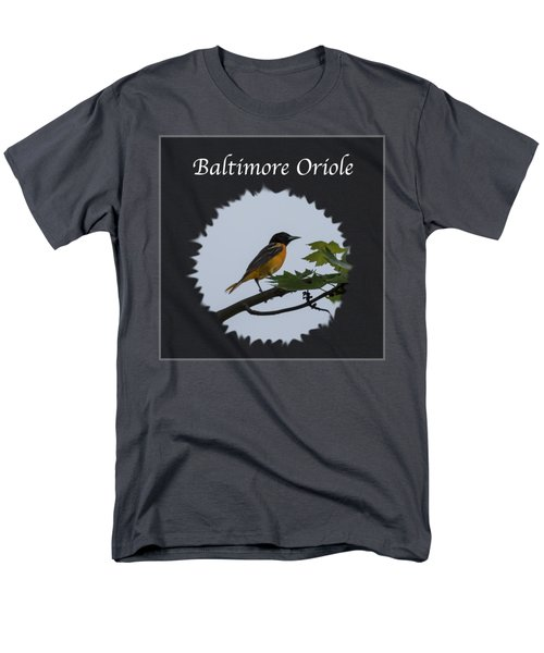 Baltimore Oriole  Men's T-Shirt  (Regular Fit) by Jan M Holden