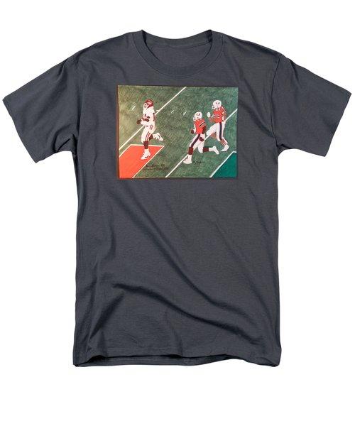 Arkansas V Miami, 1988 Men's T-Shirt  (Regular Fit) by TJ Doyle