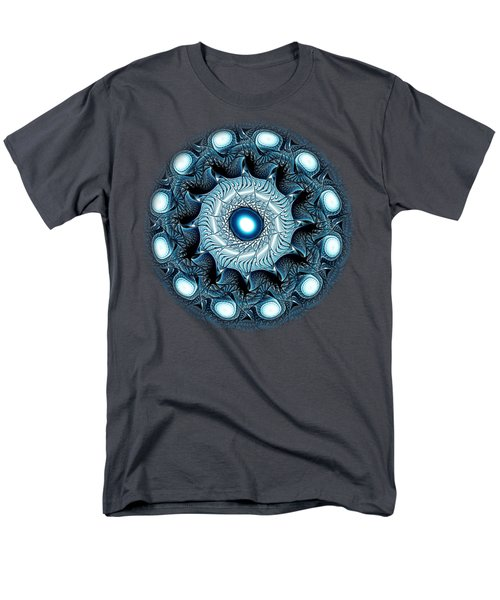 Blue Circle Men's T-Shirt  (Regular Fit) by Anastasiya Malakhova