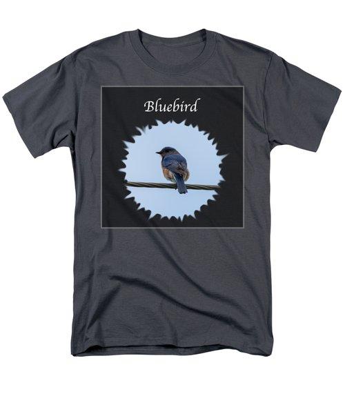Bluebird Men's T-Shirt  (Regular Fit) by Jan M Holden
