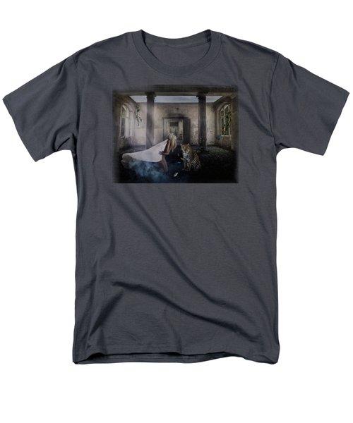 Bluebonnet Hall Men's T-Shirt  (Regular Fit) by Terry Fleckney