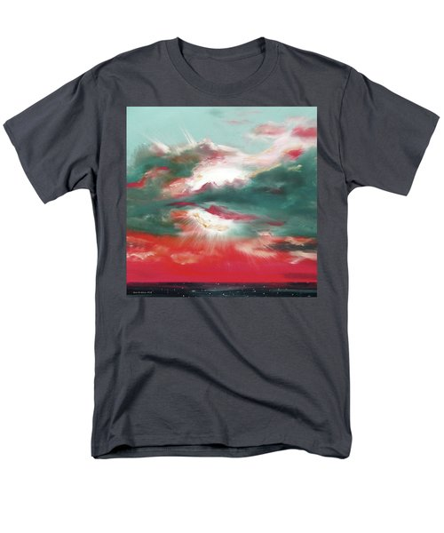 Bound of Glory 2 - Square Sunset Painting T-Shirt by Gina De Gorna