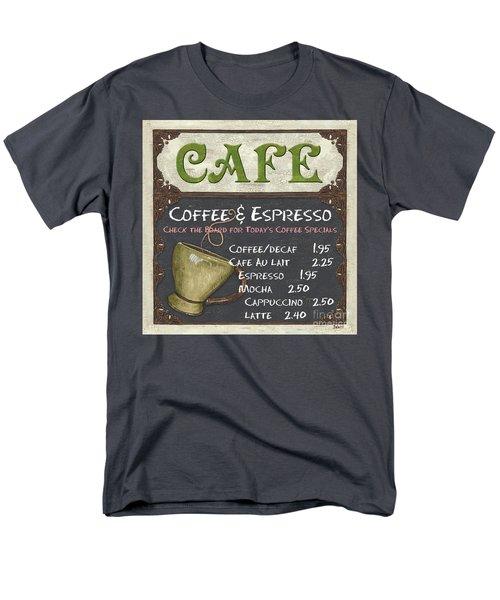 Cafe Chalkboard T-Shirt by Debbie DeWitt