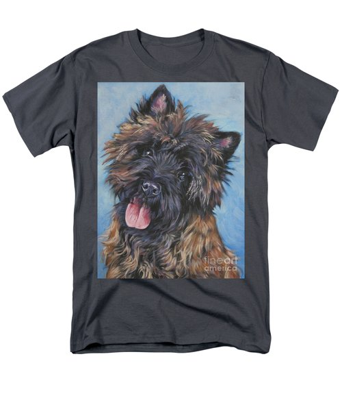 Cairn terrier Brindle T-Shirt by Lee Ann Shepard
