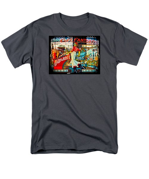 Captain Fantastic - Pinball Men's T-Shirt  (Regular Fit) by Colleen Kammerer