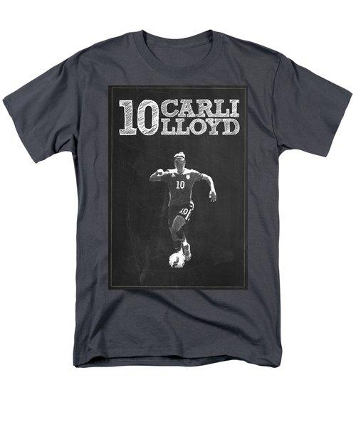 Carli Lloyd Men's T-Shirt  (Regular Fit) by Semih Yurdabak