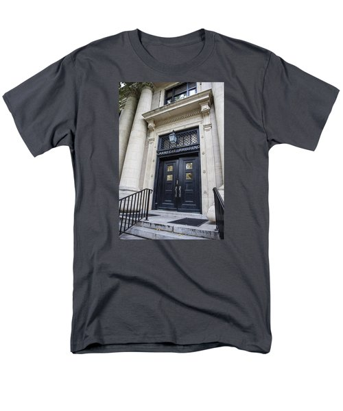 Carnegie Building Penn State  Men's T-Shirt  (Regular Fit) by John McGraw