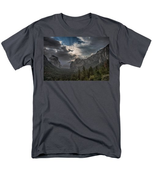 Clouds And Light Men's T-Shirt  (Regular Fit) by Bill Roberts