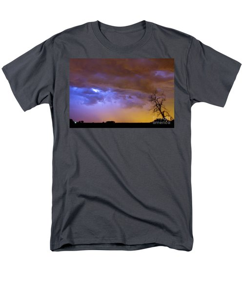 Colorful Cloud to Cloud Lightning Stormy Sky T-Shirt by James BO  Insogna
