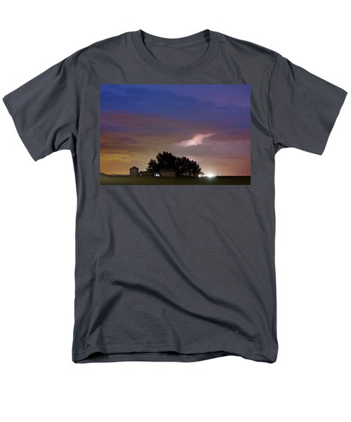 County Line 1 Northern Colorado Lightning Storm T-Shirt by James BO  Insogna